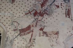 welsh church medieval wall paintings - Google Search