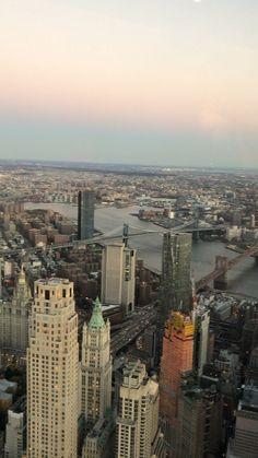 One World Observatory- NYC skyline