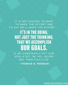 Make the Effort