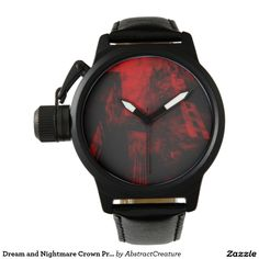 Dream and Nightmare Crown Protector Black Leather