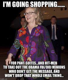 Hillarys' to do list..