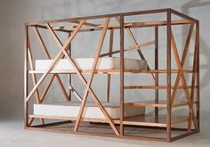 Safety List When Purchasing – Bunk Beds for Kids Convertible Bunk Beds, Kids Furniture, Furniture Design, Built In Bed, Kids Bunk Beds, Piece A Vivre, Wood Design, Kids Bedroom, Small Spaces
