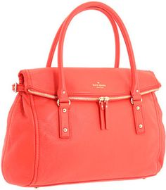 87ffe86cac84 Kate Spade Cobble Hill Leslie in Orange Kate Spade Purse