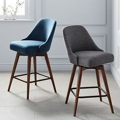 Saddle Bar Counter Stools In 2018 Mid Century Style