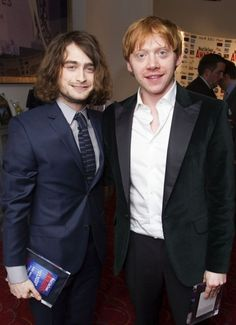 Cuando Harry Potter se dejó crecer el cabello y Ron trató de no burlarse