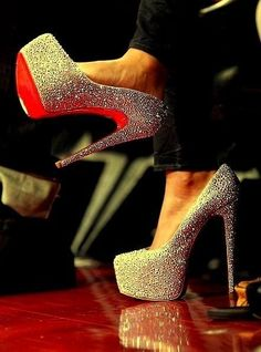 Sparkly louboutins... I'm in love