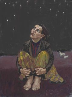 Paula Rego (b. Good Dog pastel on canvas 40 x 29 x Executed in 1994 Paula Rego Art, A Level Art, Art Journal Inspiration, Painting & Drawing, Best Dogs, Contemporary Art, Beast, Folk, Fine Art