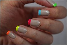 Bourjois - BCBeigé - French colorée ! ~ Didoline's Nails.... Love these colors together