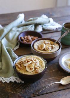 Paleo banana bread mug cake – a grain-free, refined sugar-free dessert (or breakfast) – this post showcases two ways of preparing the mug cake – either using coconut flour or almo…