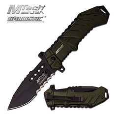 Rogue River Tactical Exclusive Mtech USA Tactical Knives Spring Assisted Folding Pocket Knife Heavy Duty Military Grade Combat with Belt Clip (Green)   http://huntinggearsuperstore.com/product/rogue-river-tactical-exclusive-mtech-usa-tactical-knives-spring-assisted-folding-pocket-knife-heavy-duty-military-grade-combat-with-belt-clip/?attribute_pa_color=green