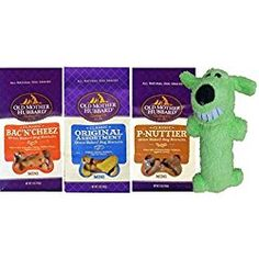 Old Mother Hubbard All Natural Oven-Baked Classic Mini Dog Biscuits 3 Flavor Variety with Toy Bundle: Bac'N'Cheez, P-Nuttier, and Original Assortment, 5 Oz. Old Mother Hubbard, Mothers D, Natural Dog Treats, Mini Dogs, Dog Biscuits, Dog Snacks, Classic Mini, Oven Baked, Pet Supplies