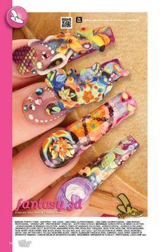 Uña de Oro, Fantasy 3D... Organic® Nails