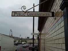 sign Toilets, Cinema, Public, Bath, Signs, Bathrooms, Movies, Bathing, Shop Signs