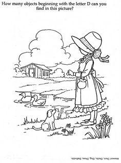 Coloring Book~Holly Hobbie's Everyday Activity Book - Bonnie Jones - Picasa Web Albums