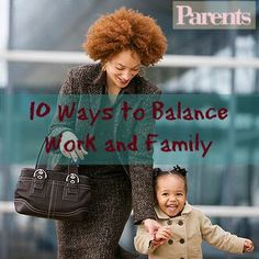 It's never easy being a mom trying to juggle a full-time job with a family life. Read on for tips on how you can reach an ideal work-life balance.