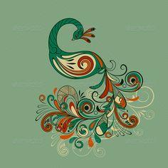Rangoli Designs Peacock Pattern » Trueido.com
