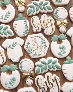 Classy Baby Shower, Boho Baby Shower, Baby Shower Fall, Baby Boy Shower, Baby Cookies, Baby Shower Cookies, Sugar Cookies, Gender Reveal Cookies, November Baby