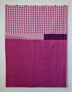 mūsu quilts: quilt back. Shot cotton and Liberty of London.
