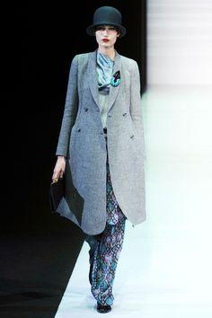 Emporio Armani Fall 2013 RTW Collection - Fashion on TheCut