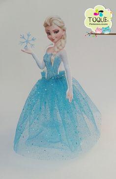 Tubete Frozen Elsa