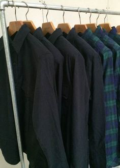Upstate Stock flannel shirts