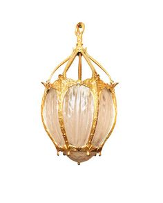 A pair of French gilt metal and glass hall lanterns Wall Light Fixtures, Wall Lights, Ceiling Lights, Acanthus, Gold Pearl, Home Lighting, Lanterns, Auction, White Gold