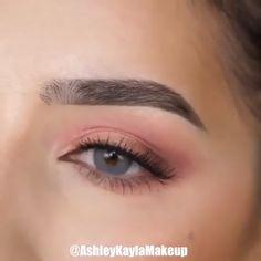 Makeup Looks Tutorial, Smokey Eye Makeup Tutorial, Eye Makeup Steps, Makeup Eye Looks, Eyebrow Makeup, Eyeshadow Makeup, Eyelashes Makeup, Easy Eye Makeup, Simple Eyeshadow
