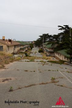 Fort Ord, Monterey, California.  Once a busy Army base.