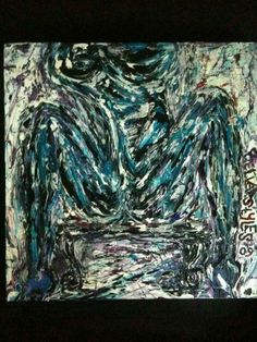 Stone, Night, Artwork, Painting, Image, Work Of Art, Painting Art, Paintings, Paint