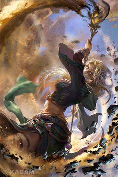"moonlightgear: "" consul-agrippa: "" Renegade Wizard by Qian Kay "" Lake of Amazing Art """