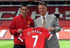 I want to emulate Ronaldo at Man Utd,says New Manchester United man Angel Di Maria