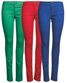 Skinny regular ultimate colour jegging, 5,95 €. Värikkäät farkkujegginsit. Kolme eri väriä. Norm. 39,95 €. VERO MODA, 1. KRS