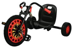 Hauck Traxx Typhoon Three Wheeler Black and Red -- See this great product. (This is an affiliate link) #KidsBikes