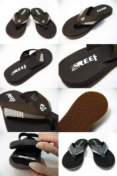 Reef Stash sandals, secret compartment!