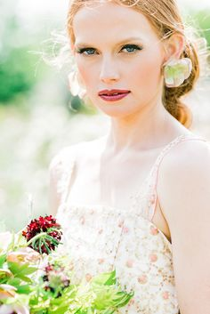 The Flower Bride | Kelsey Genna | Kate Grewal Photography | Bridal Musings Wedding Blog