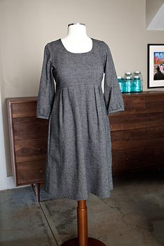 washi dress with tova sleeves - lots of people have been putting tova sleeves into the washi dress with quite a bite of success.