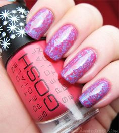 Do Not Refreeze: Easy Peasy Nail Art: Saran Wrap Manicure
