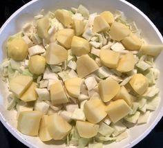 Gołąbkowa patelnia - pyszne danie jednogarnkowe! - Blog z apetytem Interior Design Living Room, Cantaloupe, Potato Salad, Kitchen Decor, Favorite Recipes, Fruit, Cooking, Ethnic Recipes, Blog