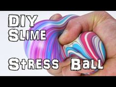 SQUISHY STRESS BALL out of DIAPERS! ♥ DIY - YouTube