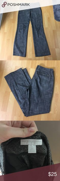 Tall Grey Pants Size is 4 Tall. Slightly stretchy dress pants. Perfect Condition. My tall ladies you know how hard it is to find pants in our size that aren't black! New York & Company Pants Trousers