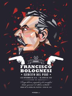 FRANCISCO BOLOGNESI by Fer Taboada, via Behance