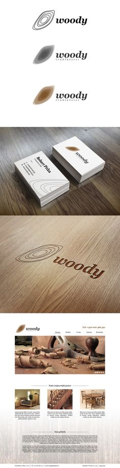 Woody joinery identity on Behance