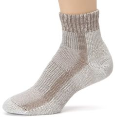 Amazon.com: Thorlo Womens Moderate Cushion Coolmax Light Hiking Mini Crew Sock, Khaki, Medium/10 Ladies 7-9: Clothing