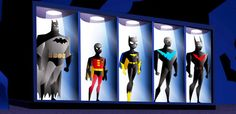Batman Beyond batcave | Batman Beyond Batcave Suits