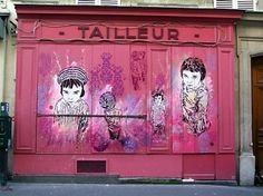 Street Art Par C215 - Paris (France)