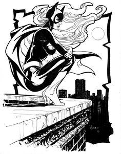 Batgirl - Joe Jusko #RedRider https://www.amazon.com/Red-Rider-Randall-Allen-Dunn-ebook/dp/B00DPU2QO0