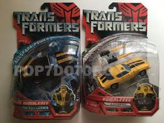 Hasbro Transformers Movie 2007 Deluxe Bumblebee Combo Stealth and Old Camaro | eBay