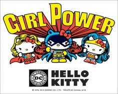 DC and Sanrio team up for Hello Kitty superhero products - Robot 6 @ Comic Book Resources.