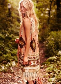 a little bit of boho style
