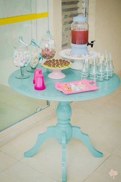 A mermaid birthday adventure at Kara's Party Ideas with mermaid party sweets and ombre cake to make it perfect!